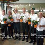 Winnaars koppeltoernooi 2017